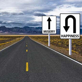 Happiness or Misery: Choice is yours